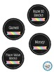 Classroom Supply Labels! 2 Styles!