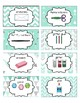 Classroom Supply Labels English Only Mint Chevron, Boho, Hipster, Arrows