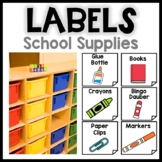 Classroom Supplies   Math Manipulatives Labels Pictures   Back to school Decor