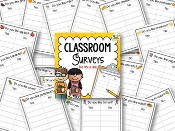Classroom Surveys - Do You Like Graphing Questions