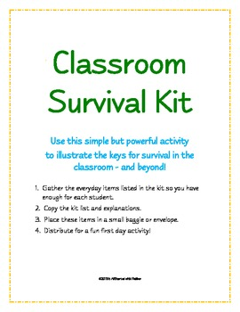 Classroom Survival Kit