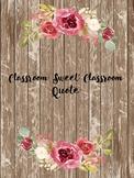 Classroom Sweet Classroom Printable
