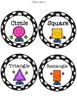 Classroom Table Labels and Helper Tags