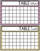 Classroom Table Points (Behavior Management System)