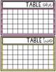 Classroom Table Points (Behavior Management System)