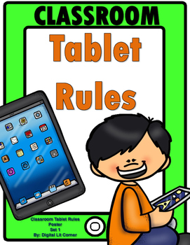 Classroom Tablet Rules