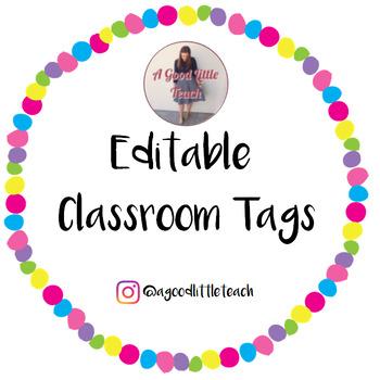 Classroom Tags