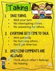 Talking Rules Poster- Supporting Students with Communication Disorders