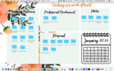 Classroom Teacher Desktop Wallpaper Organizer
