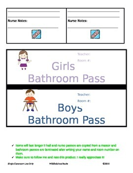 Classroom Teacher Essentials (Passes)