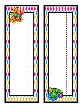 Classroom Teacher Starter Kit: Bright Stripe & Polka Dot Edition