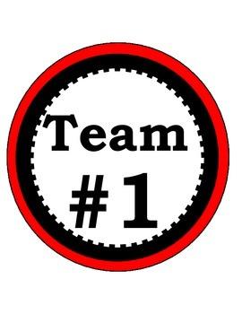 Classroom Team Circles 1 to 5