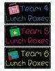 Classroom Team Labels