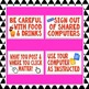 Classroom Technology-Computer Poster Set