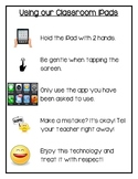 Classroom Technology Rules Poster
