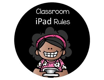 Classroom Technology Rules Poster Set