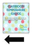 Classroom Temperature Gauge