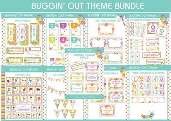 Classroom Theme Bundle - Bug Theme - Insect Theme - Dots T