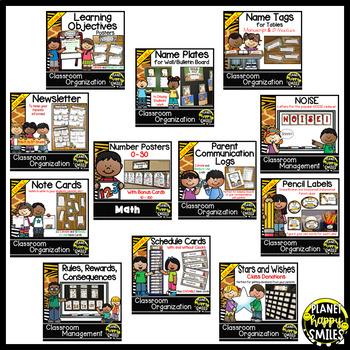 Classroom Decor Theme Bundle ~ Jungle/Safari Theme