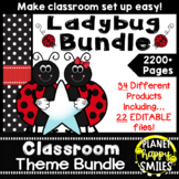 Ladybug Classroom Theme Bundle