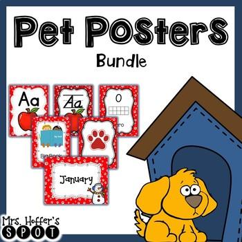 Classroom Theme Bundle {Pet Themed}