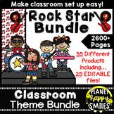 Classroom Decor Theme Bundle ~ Rock Star Theme