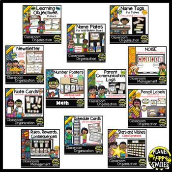 Classroom Decor Theme Bundle ~ Super Hero Theme