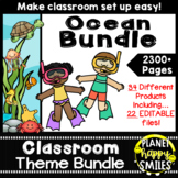 Ocean or Under the Sea Classroom Theme Bundle