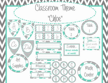 Classroom Theme- Chloe