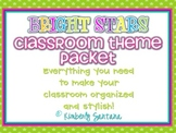 Classroom Theme {Colorful Stars}