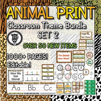 Animal Print Theme #2