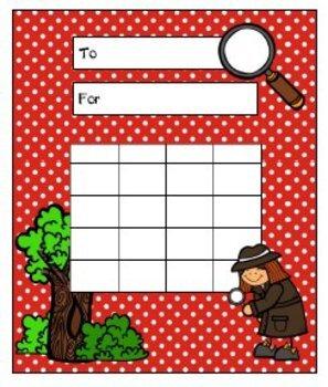 Detective/Mystery/Spy {Classroom Theme}