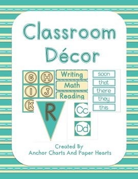 Classroom Theme Pack