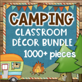 Camping Classroom Theme - Camping Decor