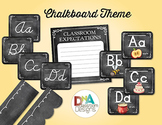 Classroom Themed Décor Bundle-Chalkboard Chic