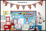 Classroom Themed Décor – Seuss-like Colors Bundle