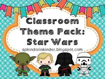 Classroom Themed Pack: Star Wars