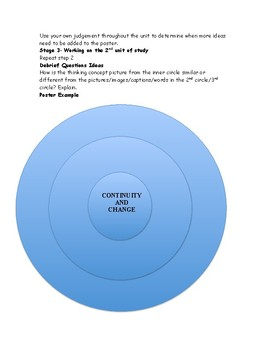 Classroom Thinking Concepts Poster