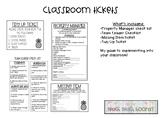 Classroom Tickets