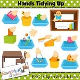 Classroom Tidy Up Clip art