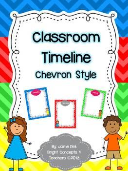 Classroom Timeline-Chevron