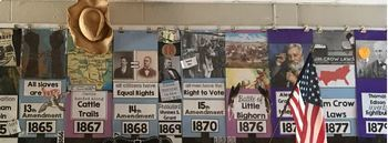Turn of the Century SS5H1 Classroom Timeline