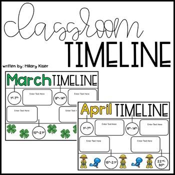 Classroom Timeline (Editable)