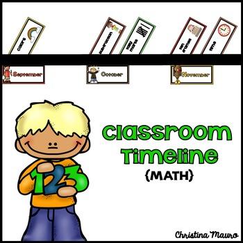 Classroom Timeline {Math}