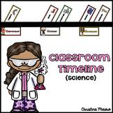 Classroom Timeline {Science}