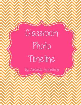Classroom Timeline Set-up (Chevron)