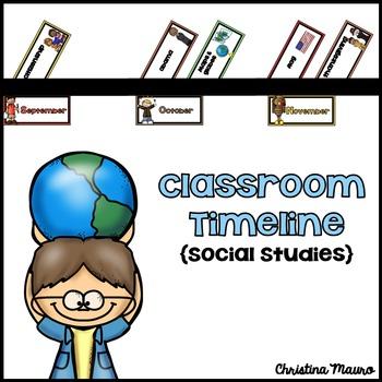 Classroom Timeline {Social Studies}