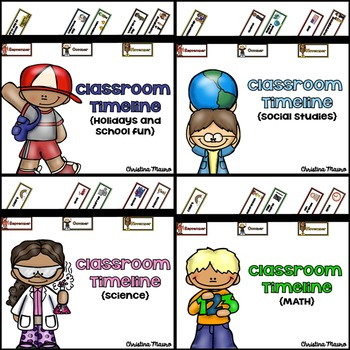 Classroom Timeline {The Complete Set}