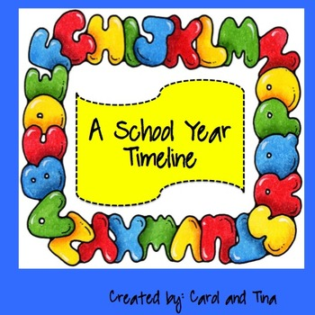 Classroom Timeline for the Year