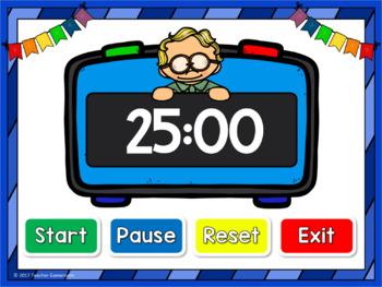 Classroom Timer - 25 Minutes